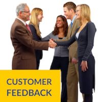 Our portfolio - Customer Feedback