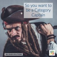 So you want to be category captain